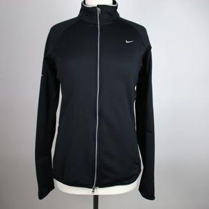 NIKE Dri-Fit Element Thermal Zip Jacket LARGE